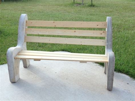 diy concrete bench do it yourself concrete bench concrete pinterest