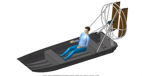 boats with big fans classical mechanics blowing your own sail physics