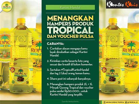 Info Minyak Nilam Hari Ini kuis bulanan tropical kartini handal paket minyak goreng