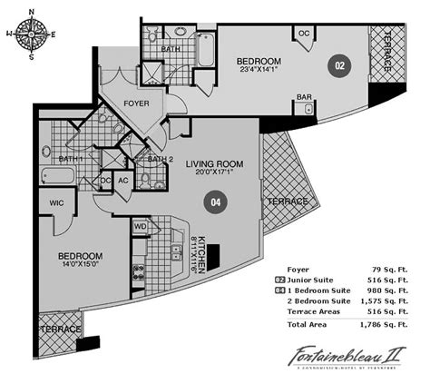 fontainebleau floor plan fontainebleau ii tresor luxury condo property for sale