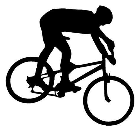 Fahrrad Logo Sticker by Sassy Stickers Mountain Bike Biker White Decal Bicycle