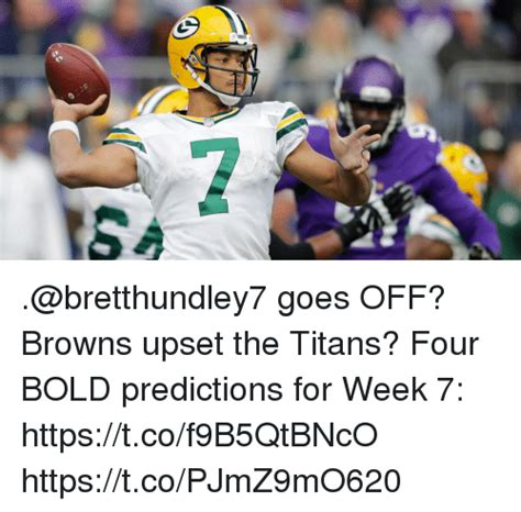 goes off goes off browns upset the titans four bold predictions