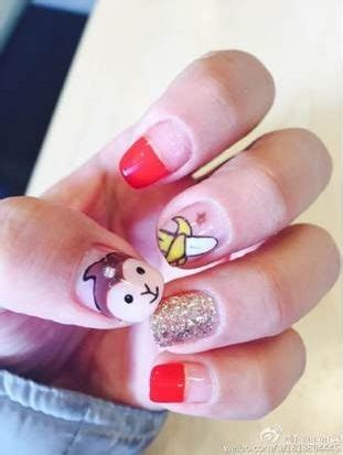 new year nail monkey monkey nail is blowing up in china vocativ