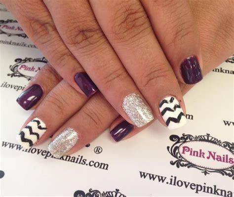 chevron pattern nails chevron nails nails pinterest nail art designs nail