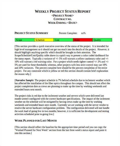 Mba Progress Monitoring by Report Exle Report Exle For Students 10 Report