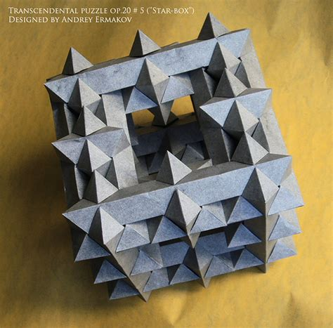 Origami Puzzle Box - the origami forum view topic andrey ermakov