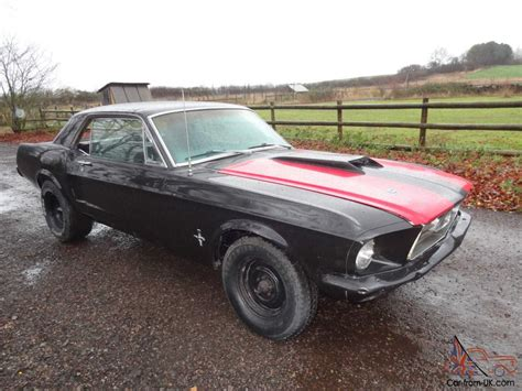 ford mustang restoration project for sale uk 1967 ford mustang restoration project 289 v8 car