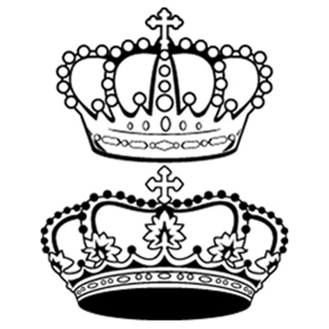 queen tattoo png crown outline colomb christopherbathum co