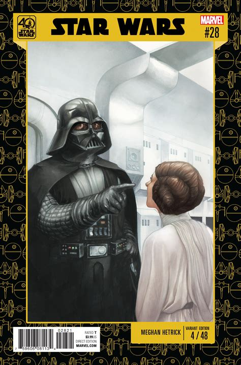 star wars anniversary star wars 28 star wars 40th anniversary variant cover