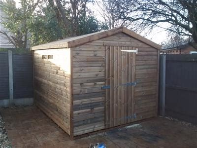 10x8 apex beast shed easy shed