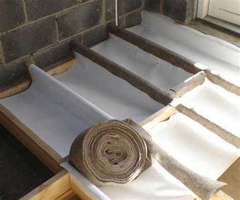 What Insulation To Use In Floor Joists by Sheep Wool Insulation Silentwool Joist