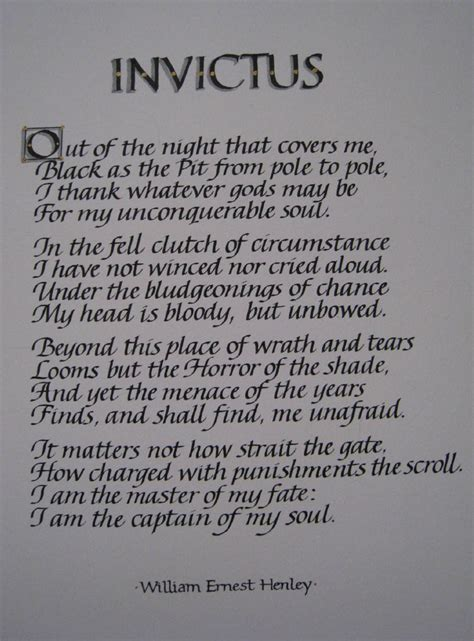 invictus poem tattoo in the arena vs invictus my thoughts being here