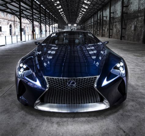 lexus lf lc lexus lf lc concept confirmed for production report