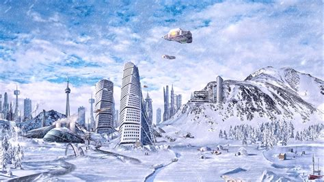 ice city ice age city hd 1080p wallpaper background