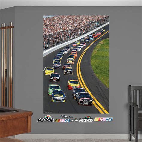 nascar wall decor daytona international speedway pack mural wall decal