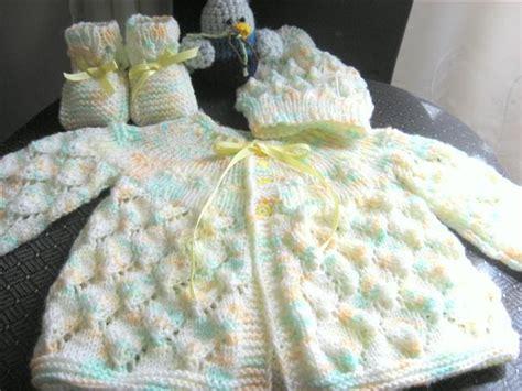 chambritas para bebe con agujas entre hilos y puntadas chambrita para beb 233