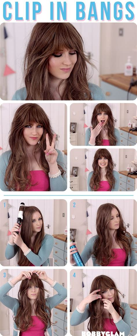 tutorial on cutting bangs bangs hair tutorials and hair on pinterest