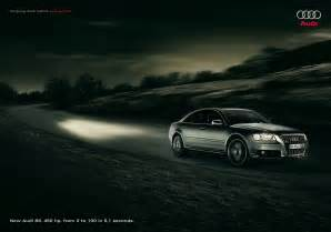audi s8 light ads of the world