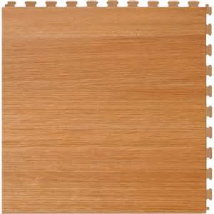shop perfection floor tile lvt 6 piece 20 in x 20 in maple