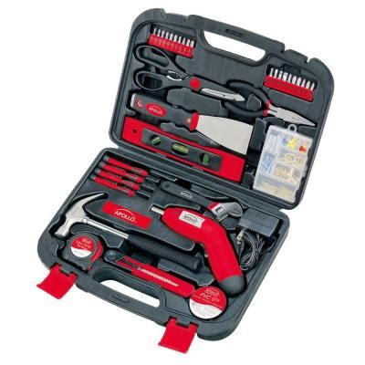 Small Tool Kit Home Depot Apollo 135 Household Tool Kit Dt0773 The Home Depot
