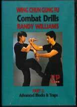Wing Chun Gung Fu Combat Drills Basic Blocks And Traps Randy William dvd wing chun kung fu 2