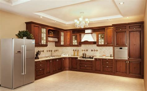 kitchen cabinets solid wood china american maple solid wood kitchen cabinet v sv012