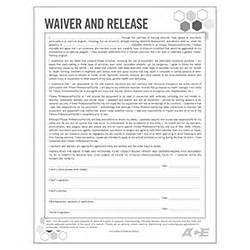 fitness waiver and release form template waiver and release form