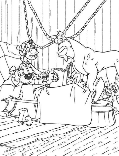 oliver and company coloring pages coloringpages1001 com