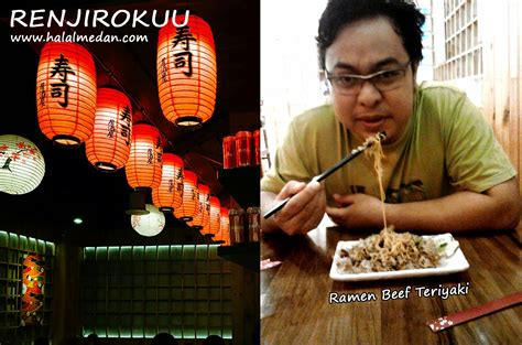 renjiro kuu restaurant jepang halal  plaza medan fair