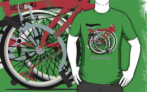 Tshirt Brompton Challenge brompton bicycle folded unisex t shirt bicycling