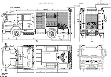 blue print size fire engine size fire free engine image for user manual