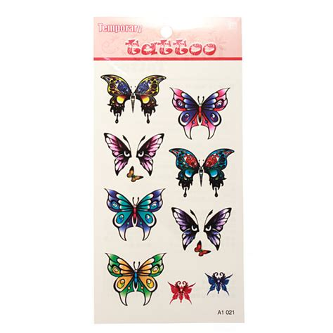 temporary henna tattoo transfer buy waterproof temporary butterfly transfer sticker