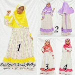 Jilbab Instan Marsya Fashion Muslimah jilbab anak jilbab anak