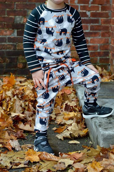 Runi Set pdf m 248 nster pattern harembyxa child size 50 164 us newborn 14y made by runi