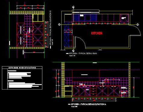 kitchen layout blocks cad drawing kitchen office layout fully documented set 1