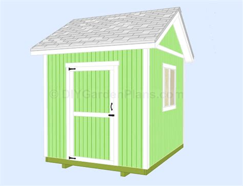 shedfor 6 x 8 resin storage shed