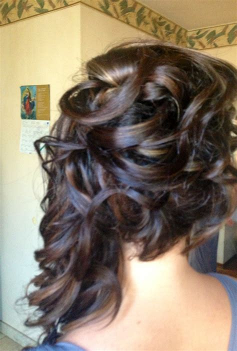Half Pinned Hairstyles adorable half pinned hairstyles for half up half