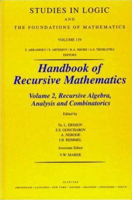 recursion book one of the recursion event saga books handbook of recursive mathematics volume 2 by yu l