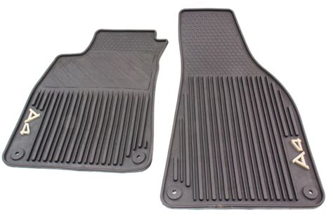 Audi A4 Rubber Mats by Rubber All Weather Front Floor Mats 02 08 Audi A4