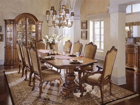 universal furniture villa cortina dining set 409658 c set