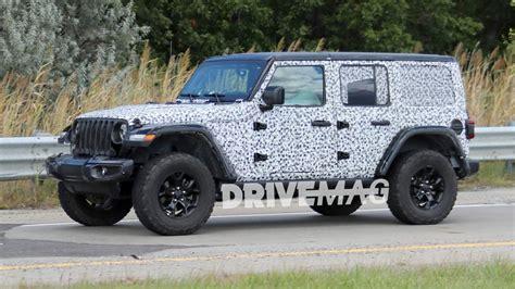 2018 jeep wrangler name 2018 jeep wrangler rubicon spied sporting minimal camo