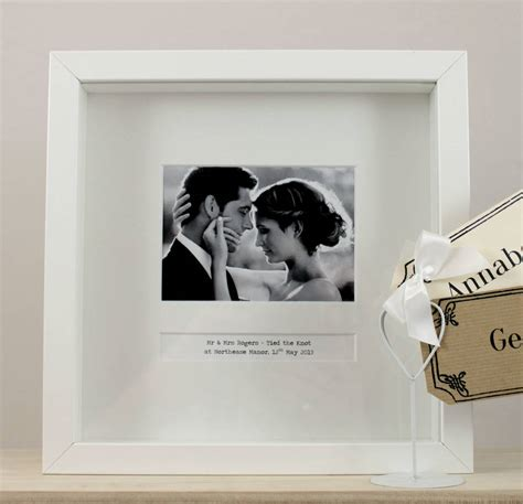 day frames personalised wedding day frame by posh totty designs