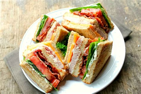ham and cheese club sandwich how to make a club bunny s warm oven