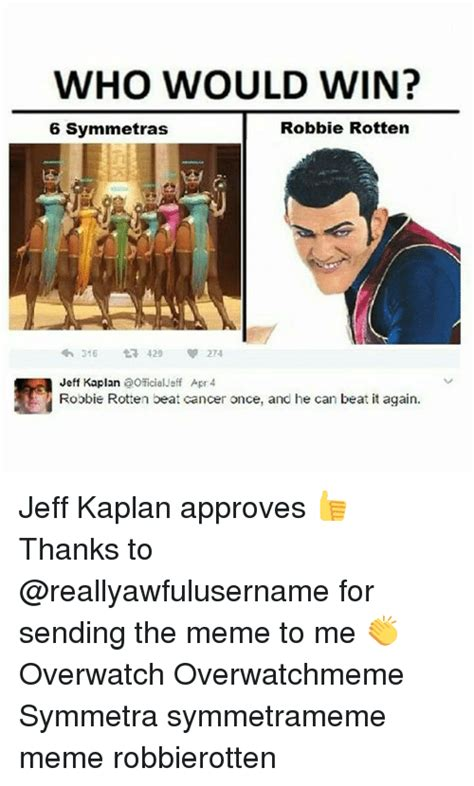 Jeff Kaplan Memes - 25 best memes about robbie rotten robbie rotten memes