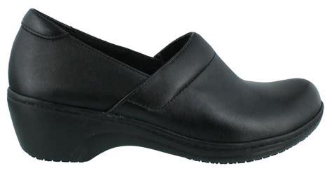 work clogs for clarks grasp idea slip resist clog work shoes leather