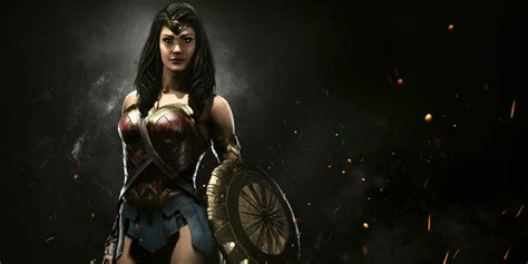 imagenes de wonder woman injustice injustice 2 wonder woman crossover details screen rant