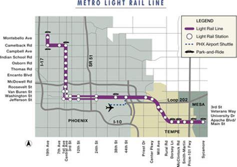 phoenix light rail stops light rail phoenix map schedule