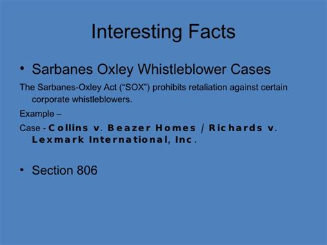 sarbanes oxley section 906 sarbanes oxley act