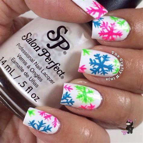 20 cool snowflake nail art designs hative