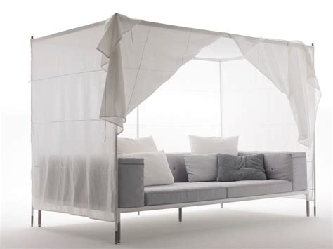 outdoor sofa with canopy springtime canopy sofa by b b italia outdoor a brand of b